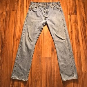 Men's Levi's 501 Straight Leg Jeans